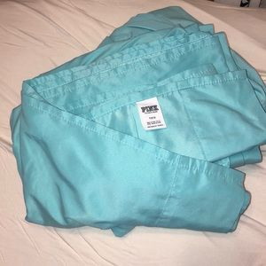Victoria's Secret PINK turquoise bedding sheets